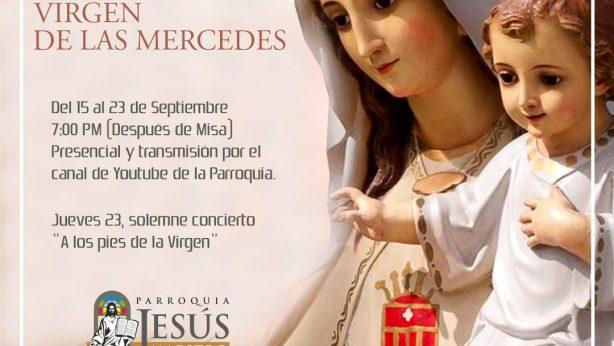 Novena a la Virgen de las Mercedes